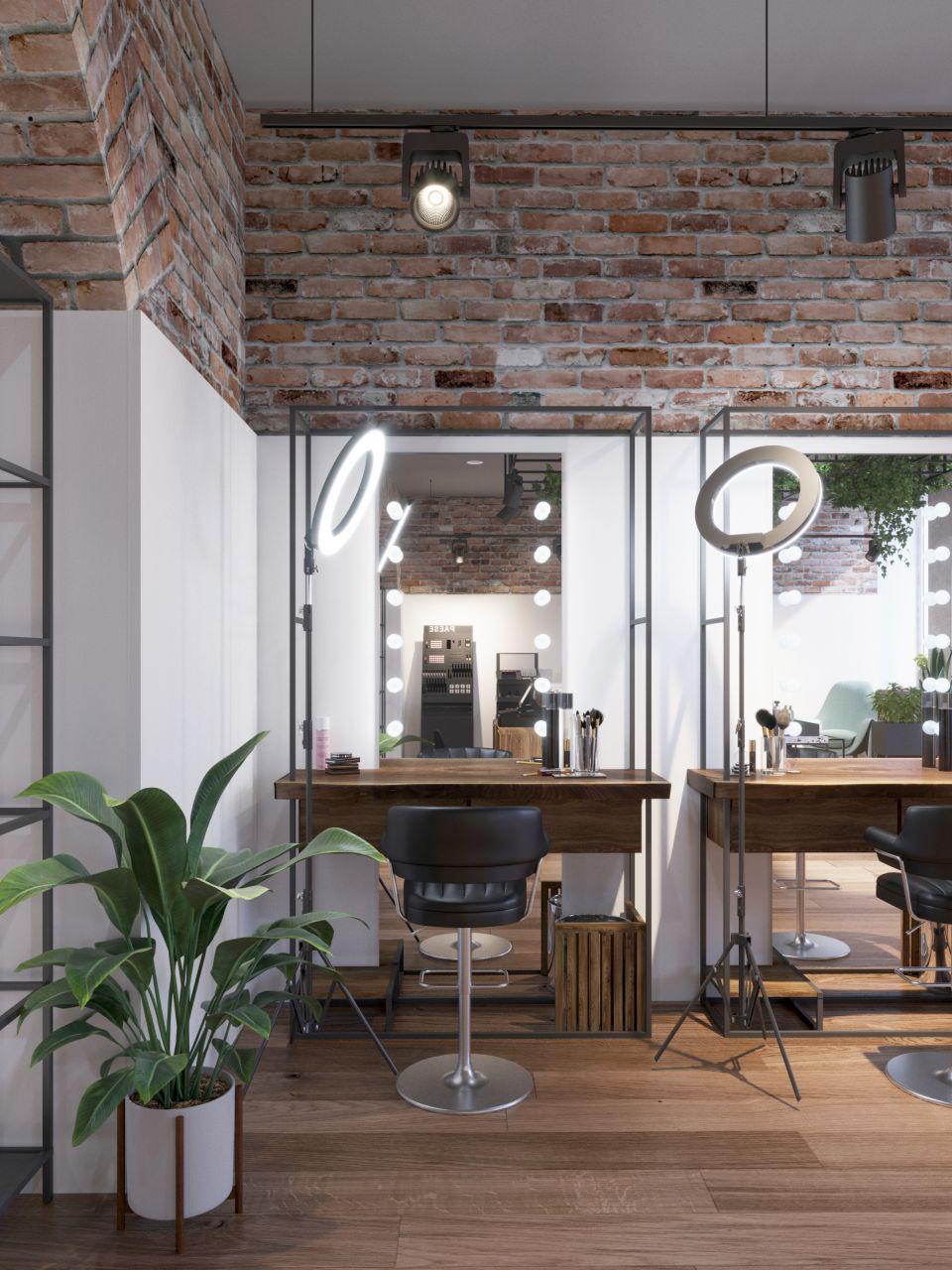 салон красоты в стиле лофт фото знаменитой меньшиковой башне