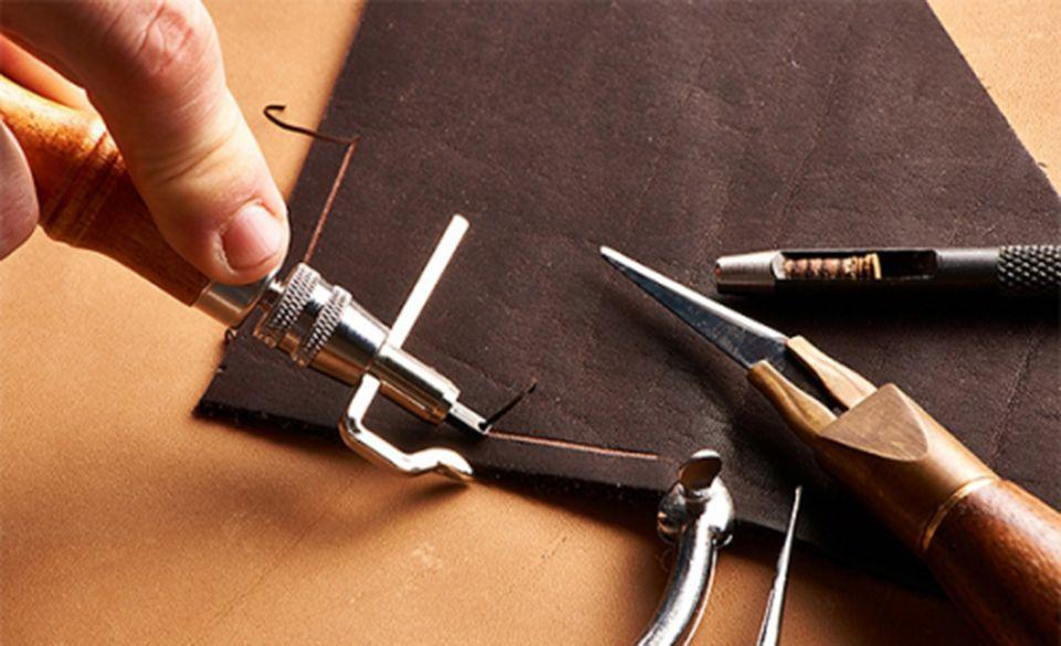 Инструмент для шитья кожи своими руками